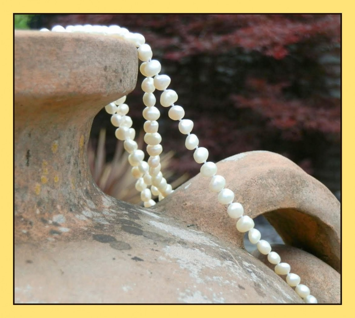 URN AND PEARLS