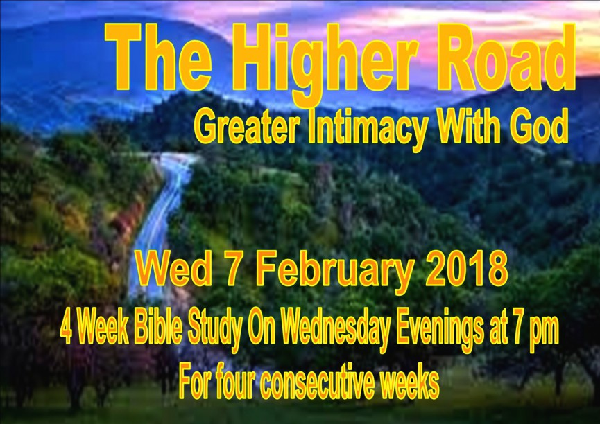 A 4 week study with Pastor Gary and Pastor Lorita Bryden