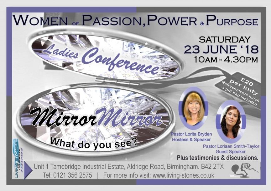 Women of Passion, Power and Purpose Presents - Mirror Mirror