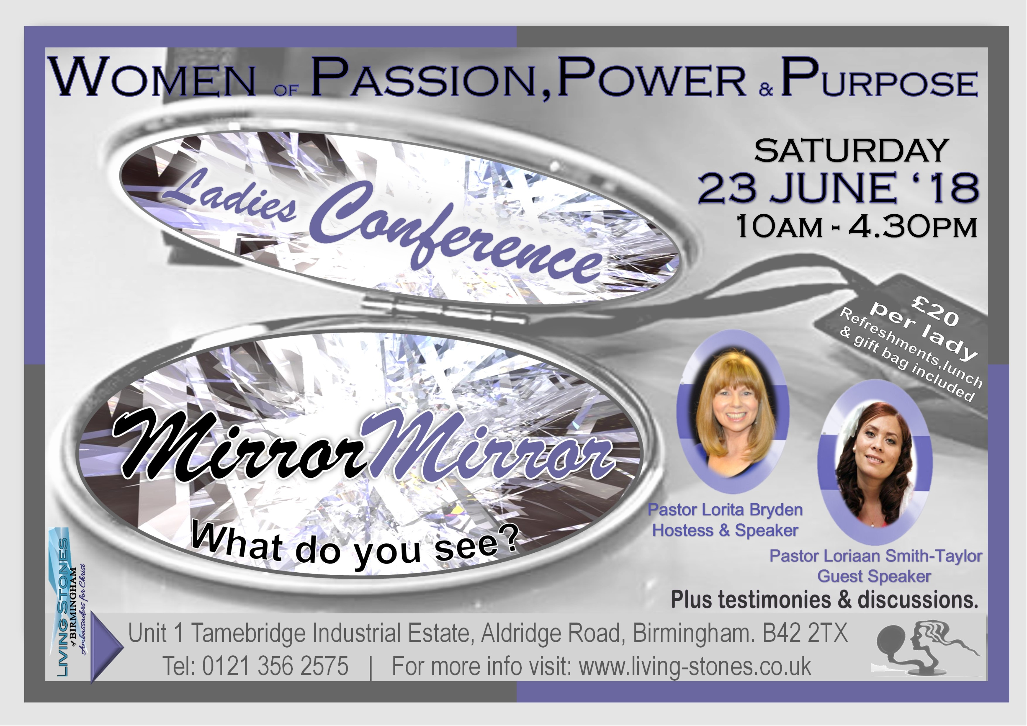 Women of Passion, Power & Purpose 2018 Ladies Conference