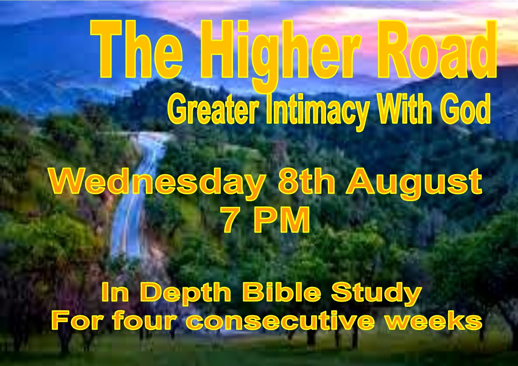 The Higher Road Bible Study